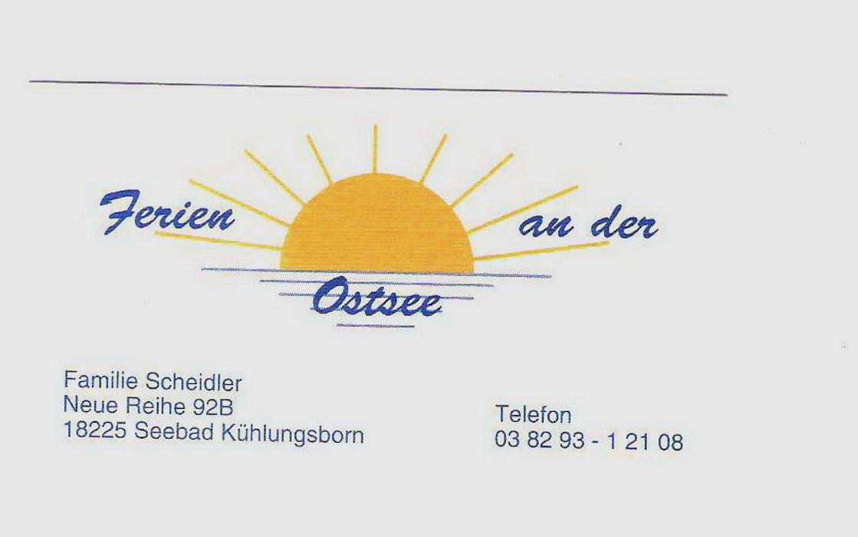 Bild zu Haus Scheidler in Kühlungsborn Ostseebad