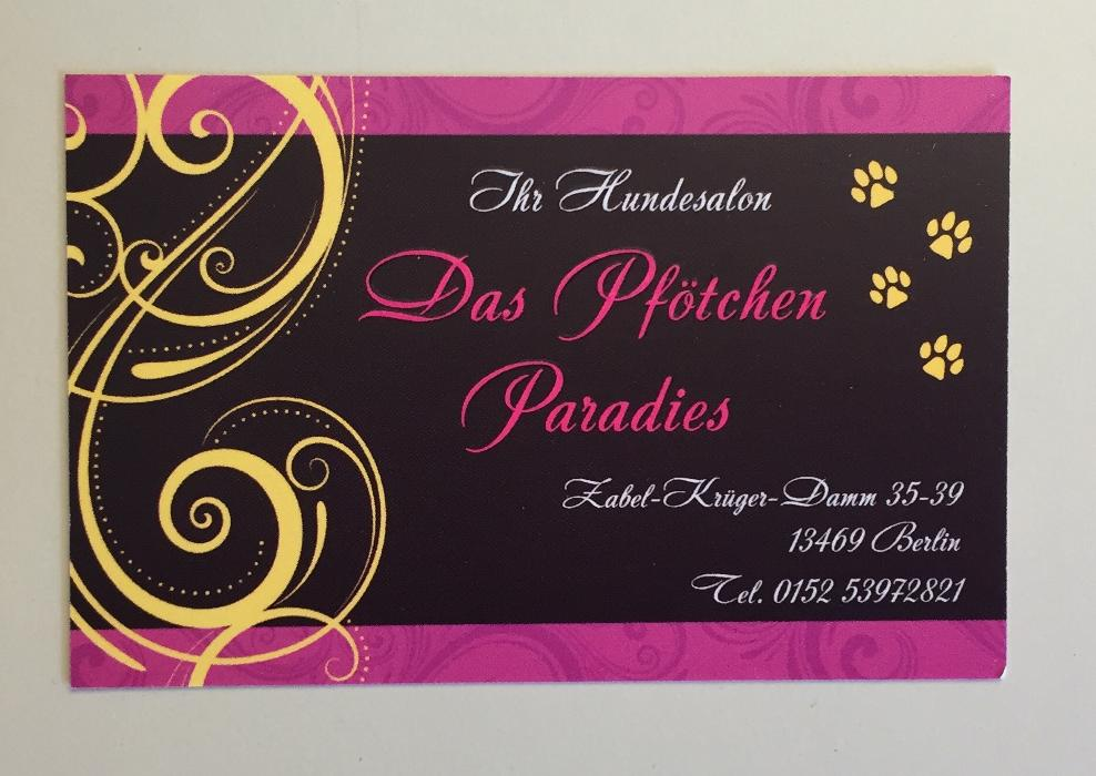 Logo von Hundesalon Das Pfötchen Paradies