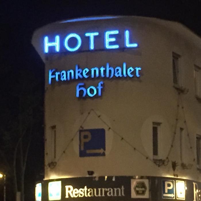 Logo von Hotel Frankenthaler Hof