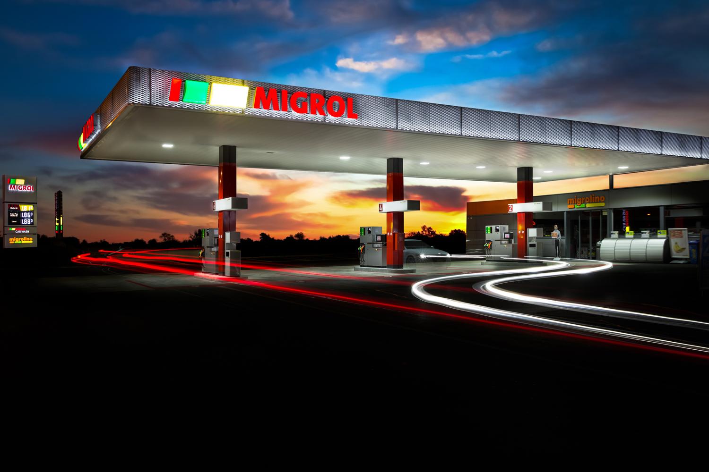 Migrol Tankstelle