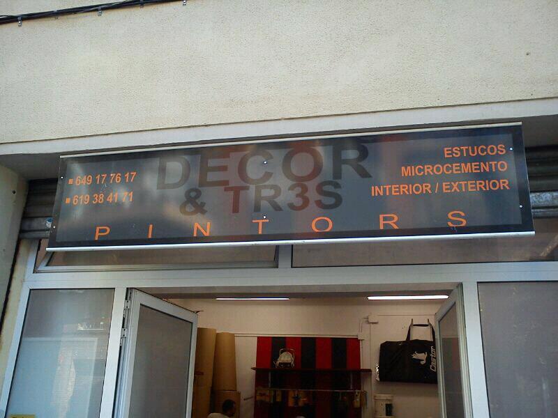 Decor & Tr3s Pintors Barcelona