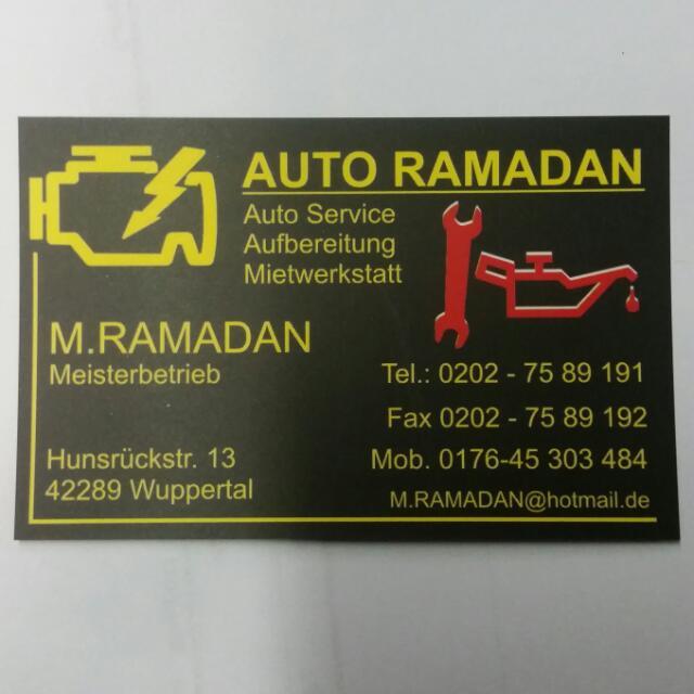 auto ramadan in wuppertal branchenbuch deutschland. Black Bedroom Furniture Sets. Home Design Ideas