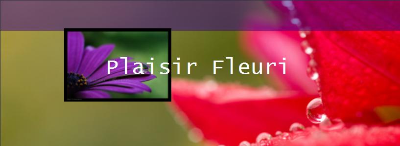 PLAISIR FLEURI
