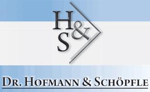 Dr. M. Hofmann und K. Schöpfle