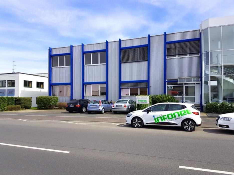 INFONET Computer GmbH, Robert-Perthel-Straße in Köln