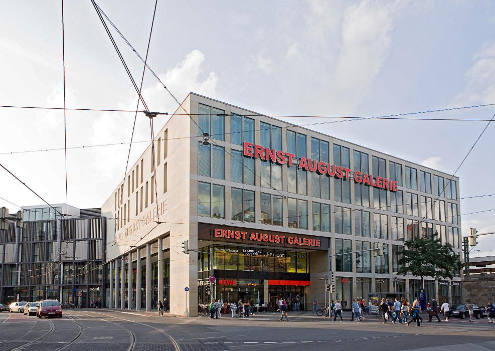 Ernst-August-Galerie, Ernst-August-Platz in Hannover