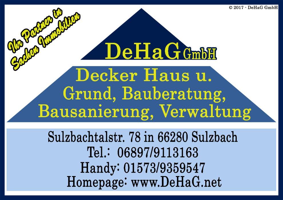 Bild zu DeHaG GmbH - Decker Haus und Grund. in Sulzbach an der Saar