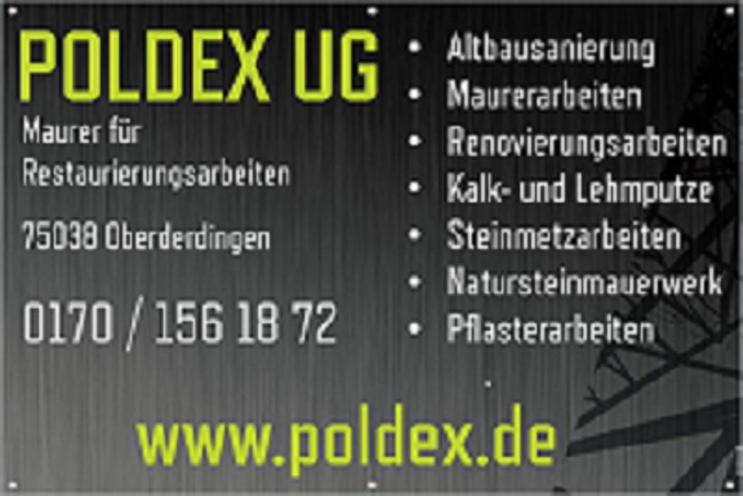 Bild zu Poldex Sebastian Przychodny Maurer für Restaurierungsarbeiten in Oberderdingen