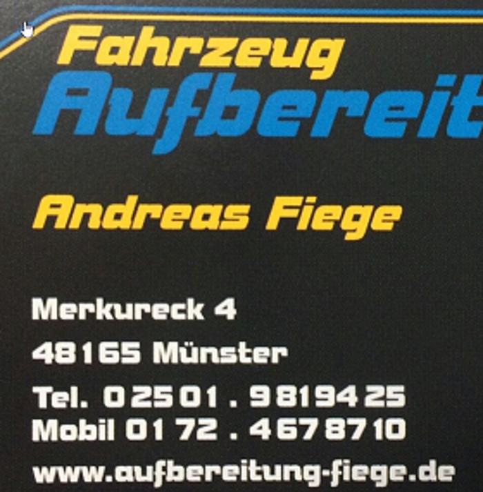 Logo von A. Fiege - Fahrzeug Aufbereitung