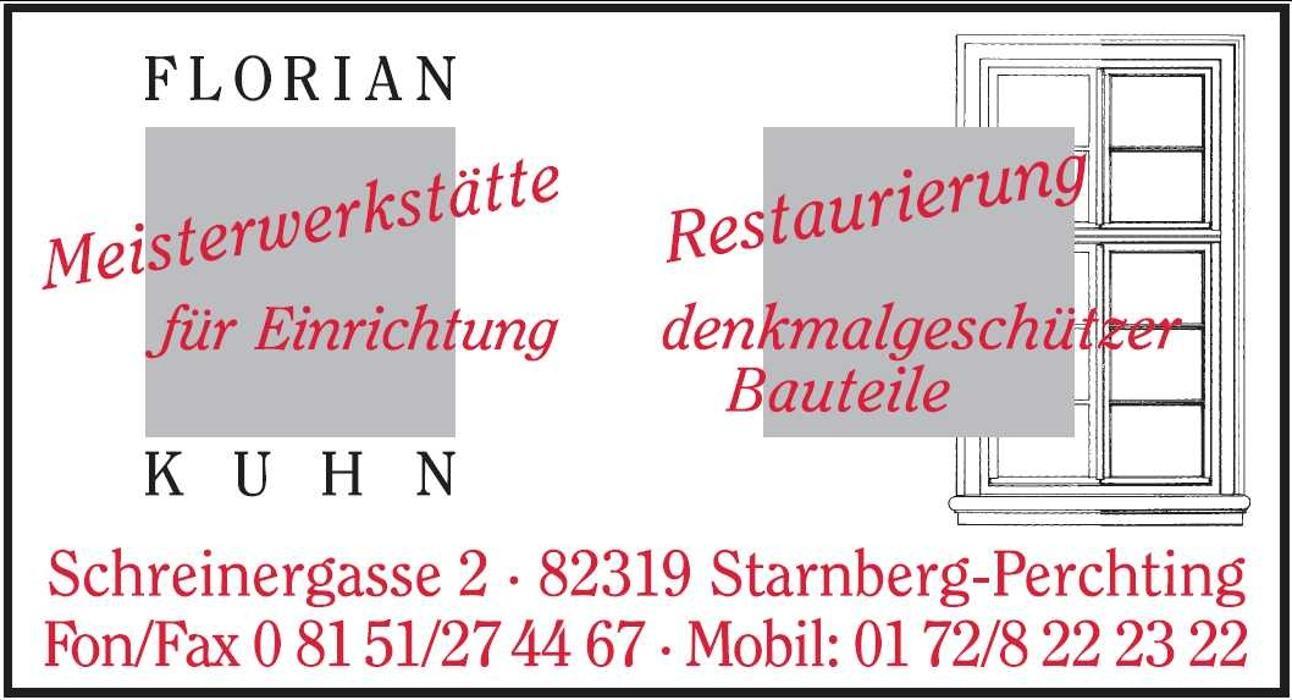 Bild zu Florian Kuhn Meisterwerkstätte für Einrichtung in Starnberg