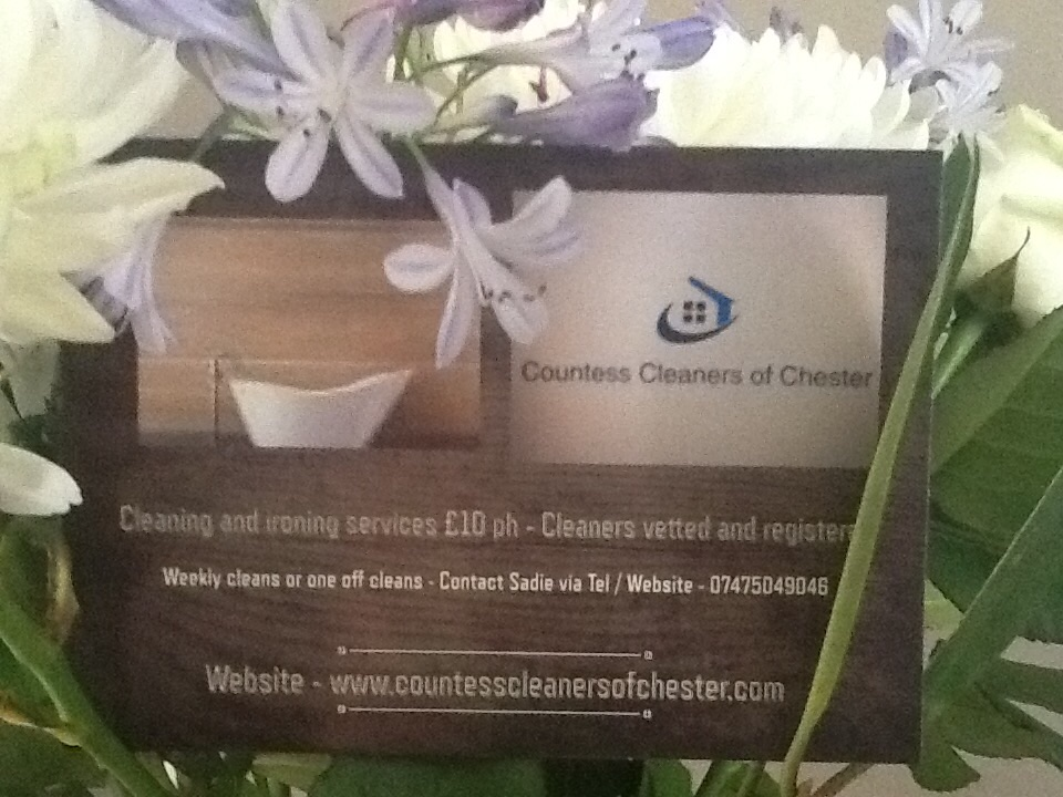 Countess Cleaners of Chester - Chester, Cheshire CH2 1DY - 07475 049046 | ShowMeLocal.com