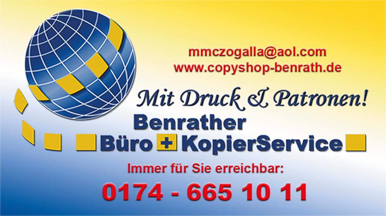 Bild zu Benrather Büro + KopierService in Düsseldorf