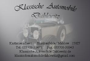 Klassische Automobile Dahlewitz