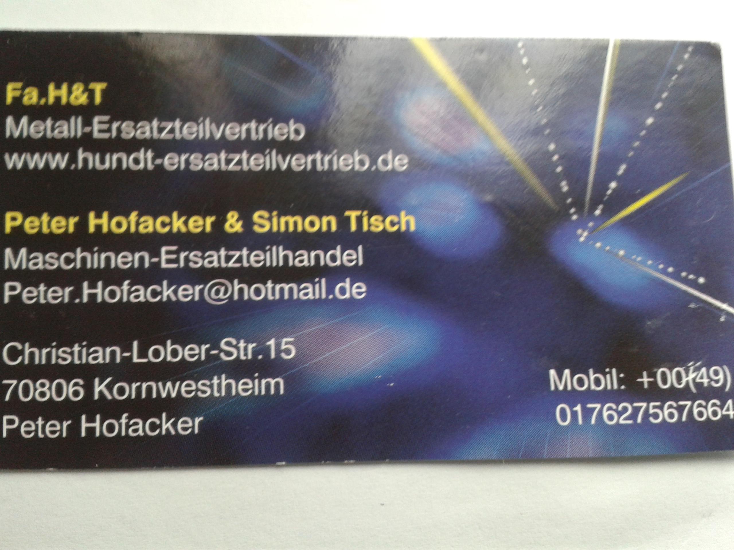 Hofacker&Tisch GBR