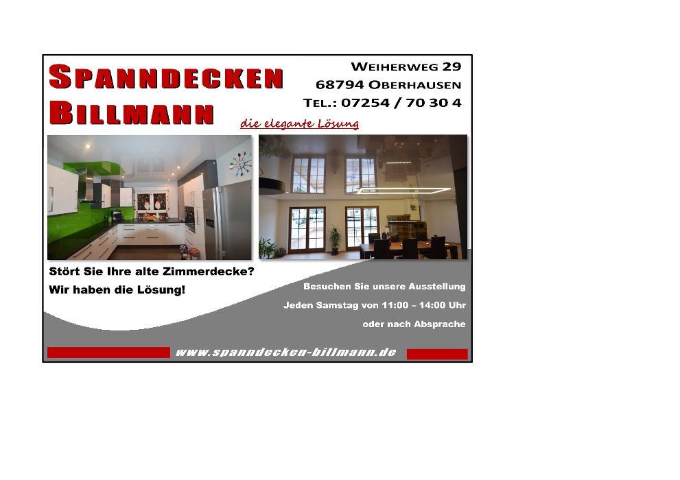 Bild zu spanndecken-Billmann in Oberhausen Rheinhausen