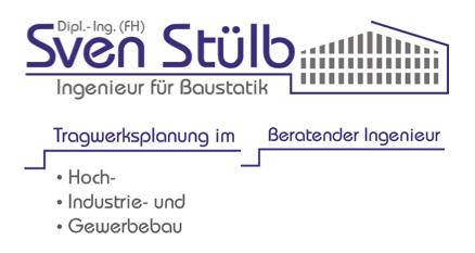 Stülb Sven Dipl. Ing. (FH) Ingenieur für Baustatik