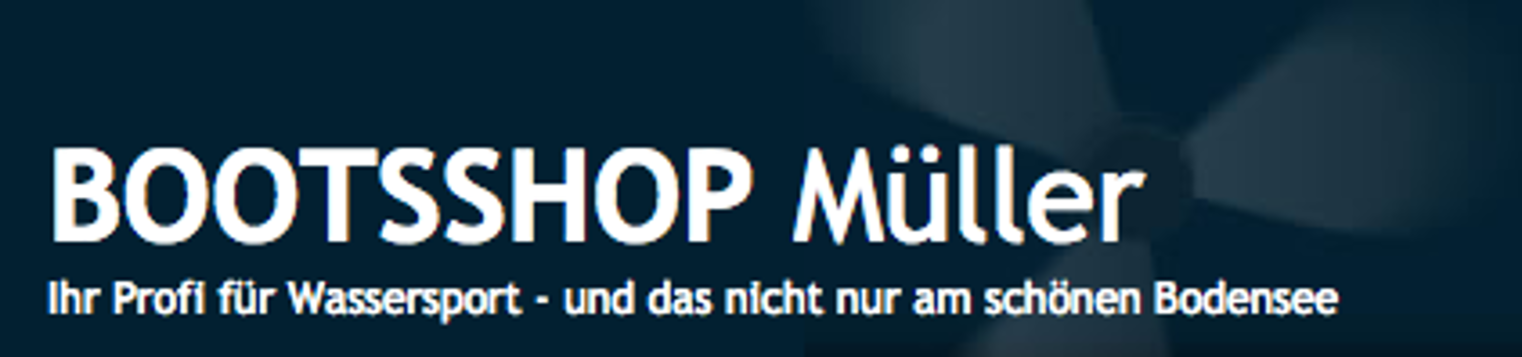 Logo von Bootsshop Bodensee Inh. Peter Müller