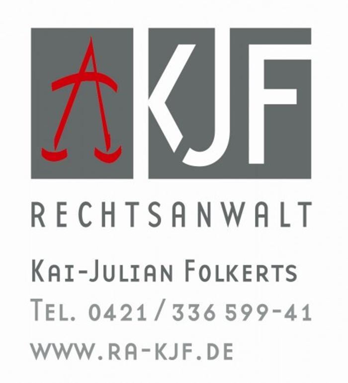 Bild zu KANZLEI KJF - Rechtsanwalt Kai-Julian Folkerts in Bremen