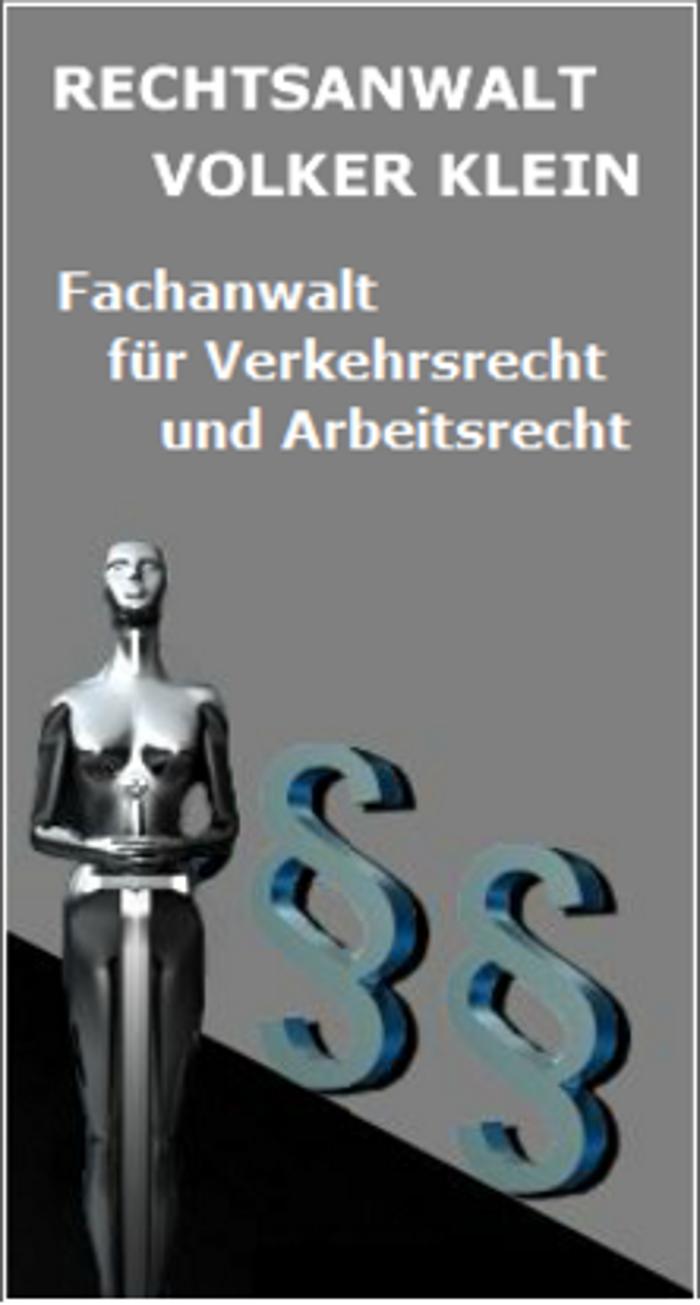 Bild zu Rechtsanwaltskanzlei Volker Klein in Bexbach
