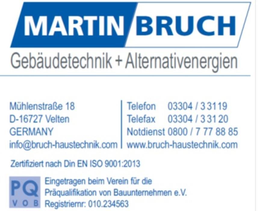 Bild zu Martin Bruch Haustechnik in Velten