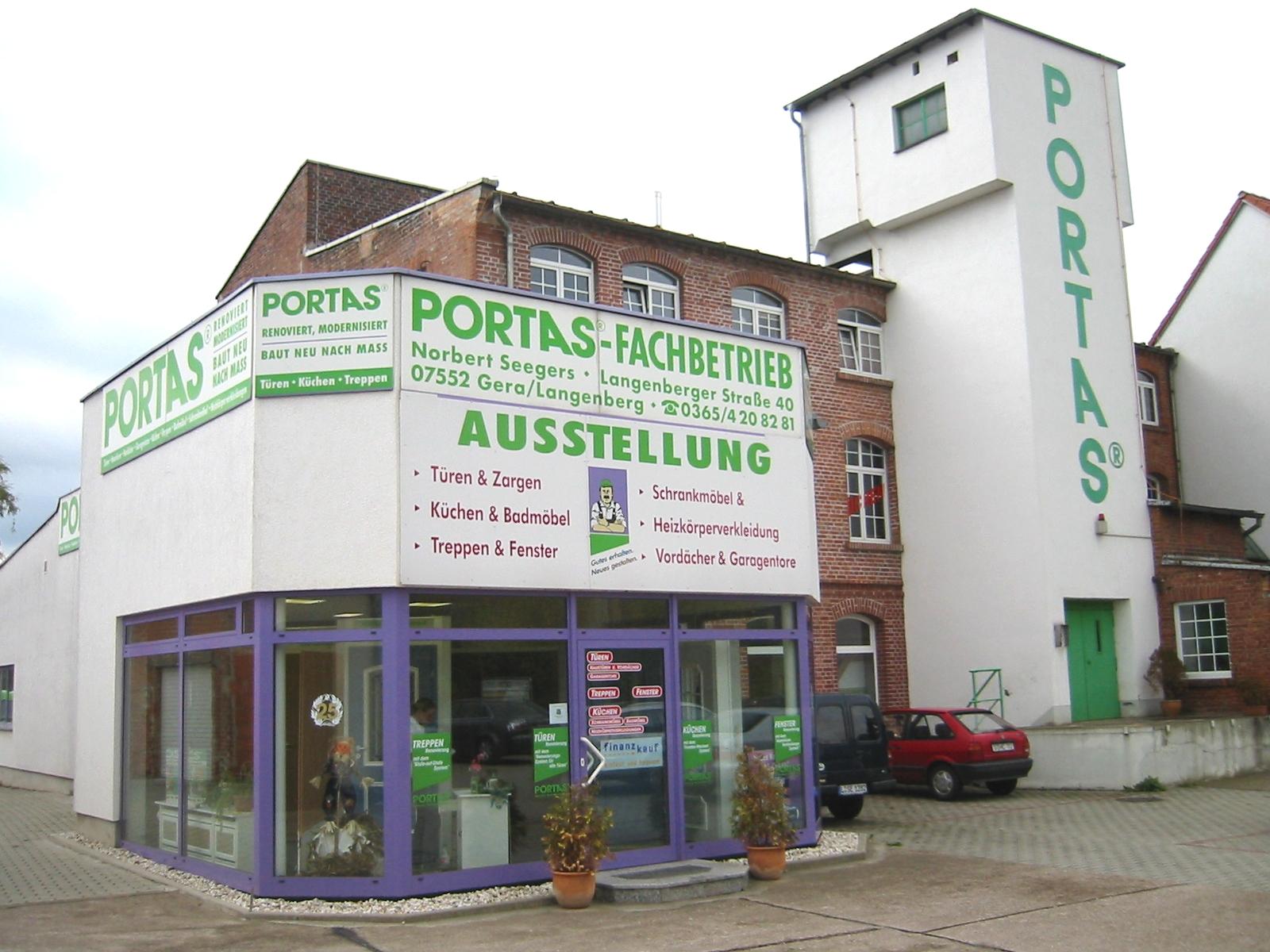Portas Fachbetrieb Norbert Seegers Ek In 07552 Gera