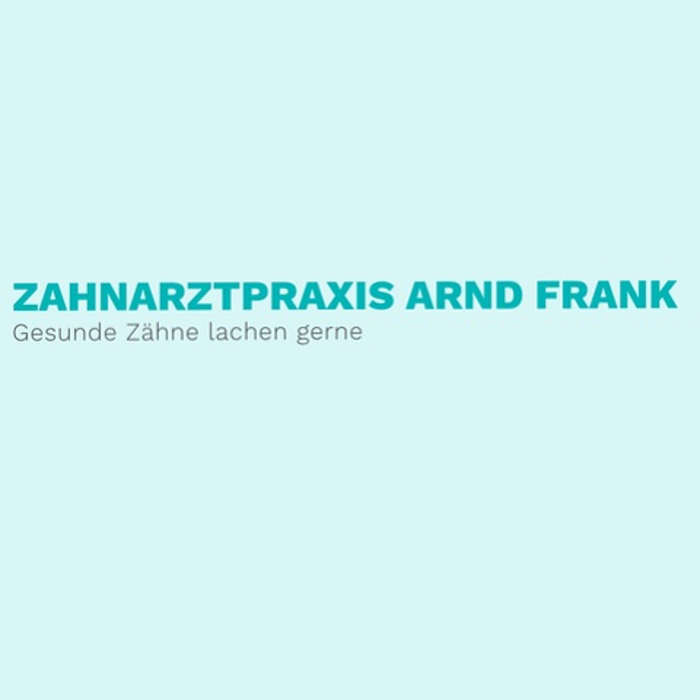 Zahnarzt Arnd Frank