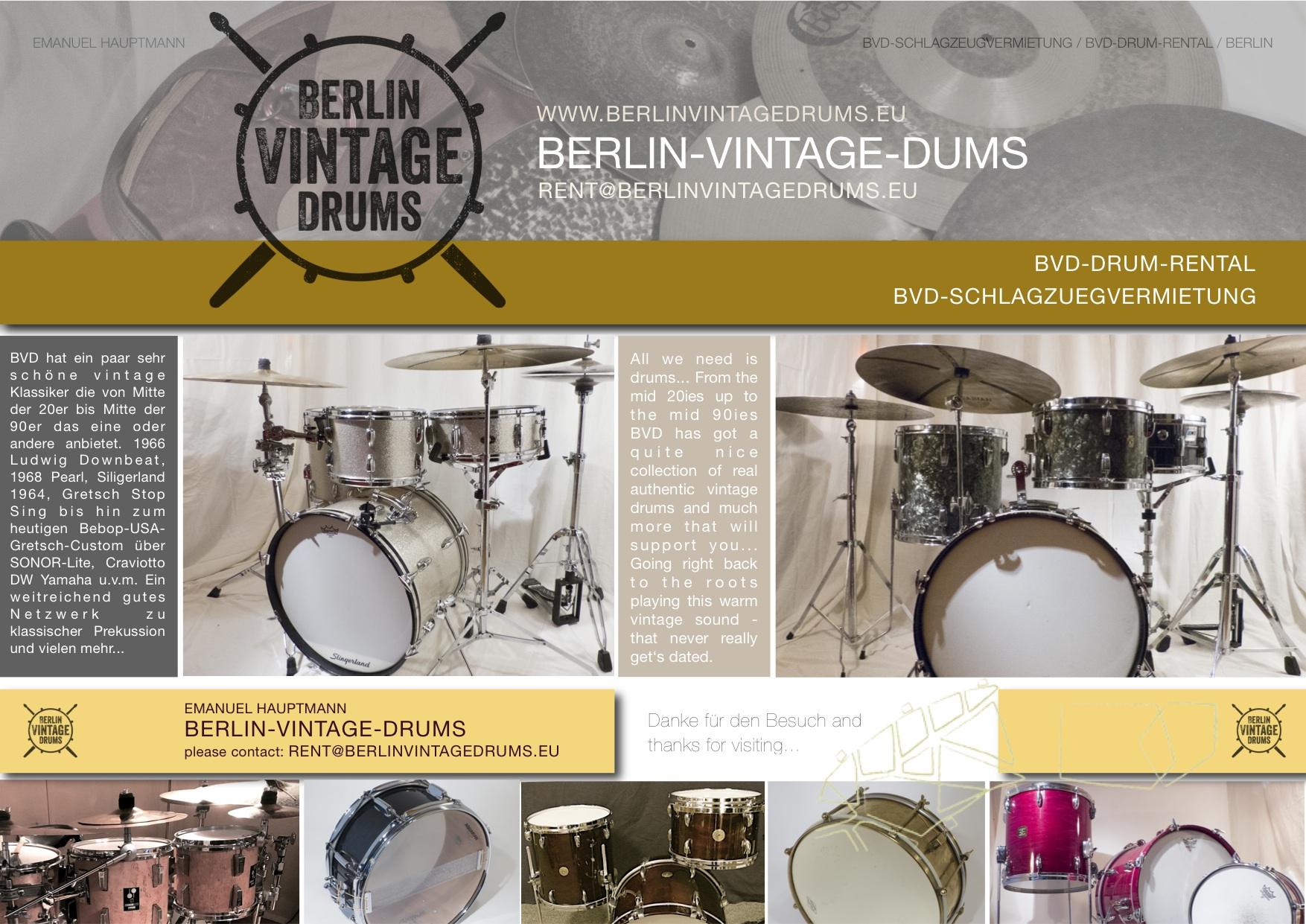 Berlin Vintage Drums