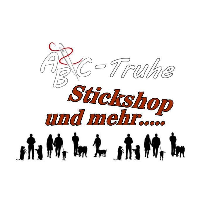 Logo von ABC-TRUHE Stickshop und mehr....