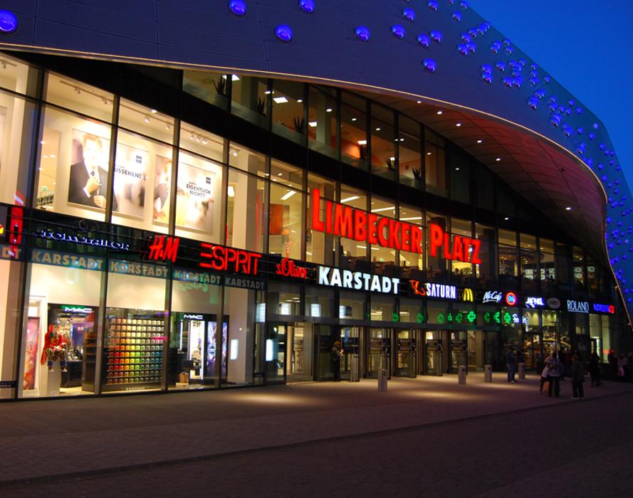 Limbecker Platz, Limbecker Platz in Essen
