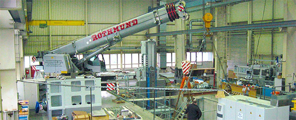 Rothmund GmbH Kran und Montage