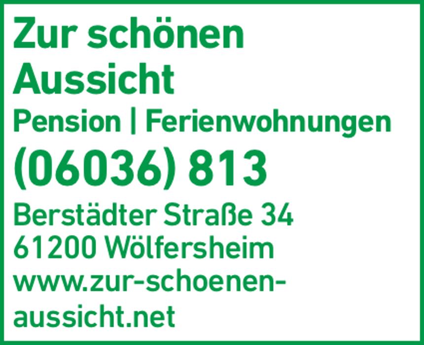 """Bild zu Pension """"Zur schönen Aussicht"""" in Wölfersheim"""