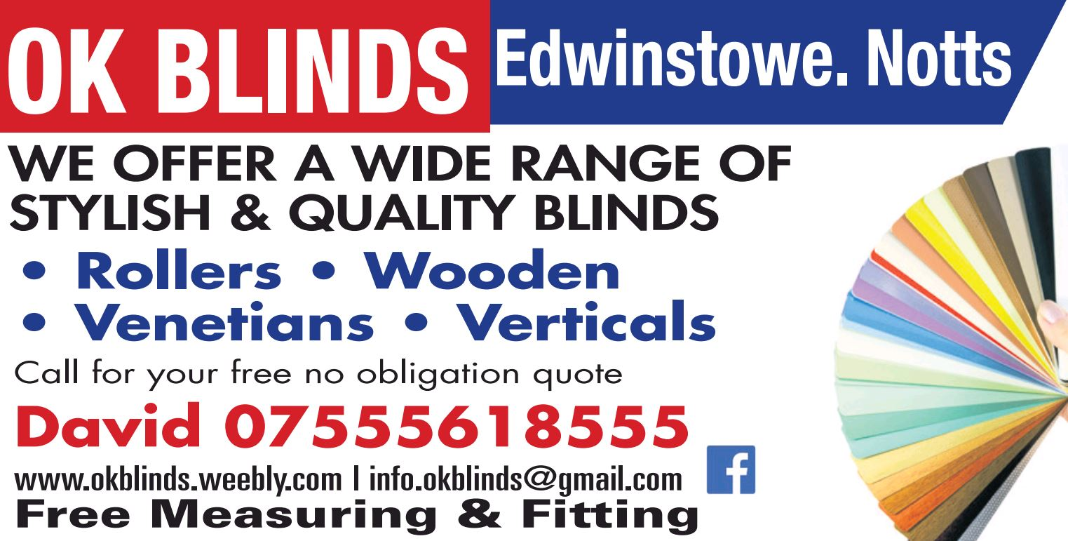OK Blinds - Mansfield, Nottinghamshire NG21 9QJ - 07555 618555 | ShowMeLocal.com
