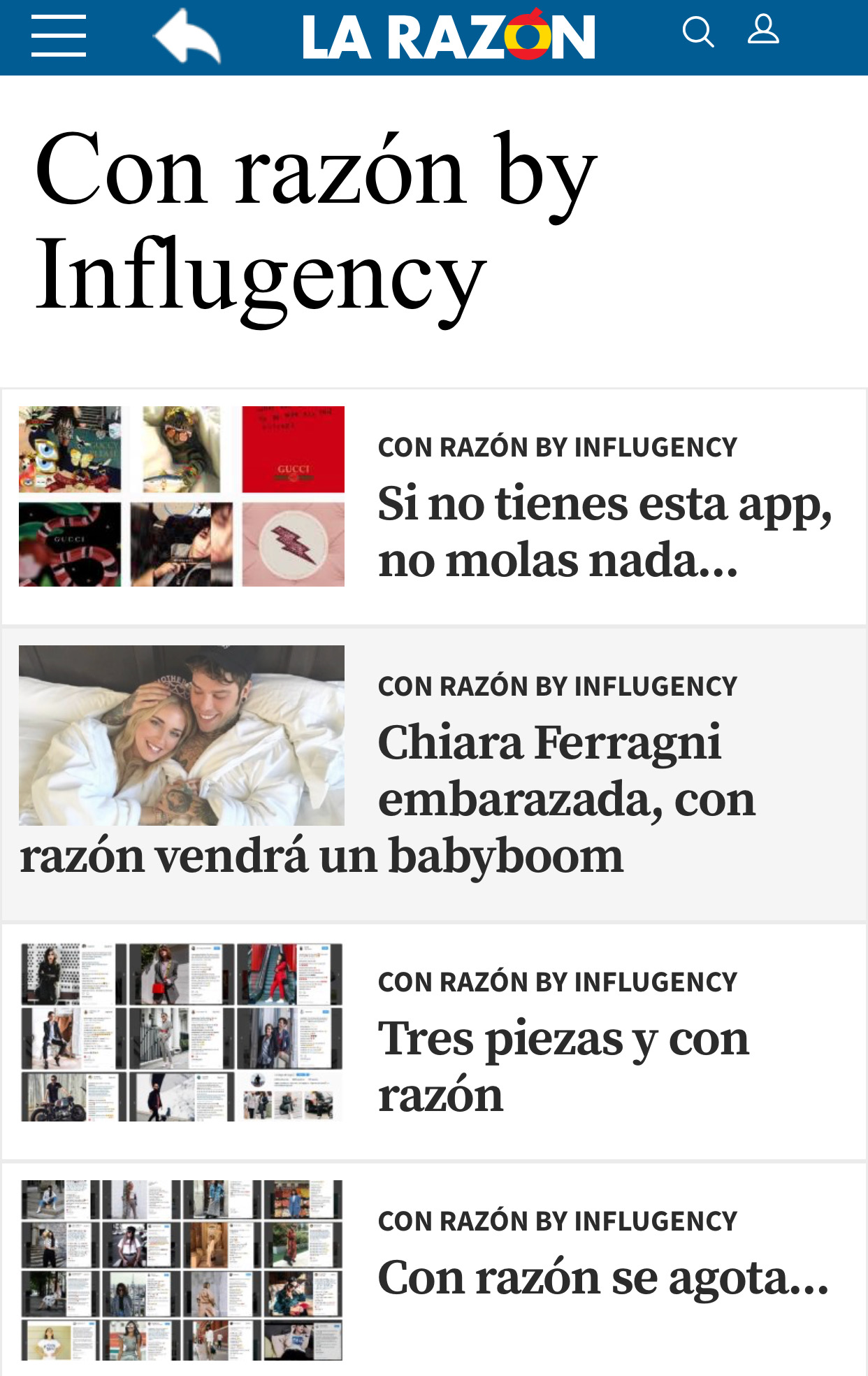 Influgency - agencia de influencers