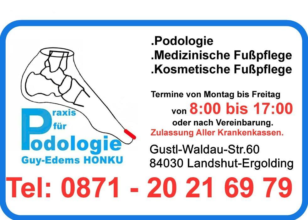 Bild zu Praxis für Podologie. Guy-Edems HONKU in Landshut