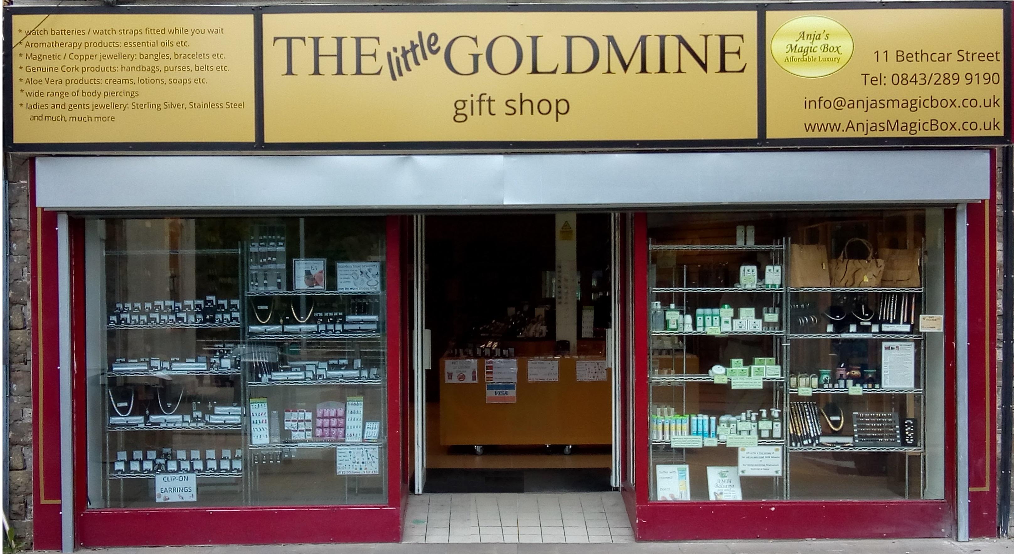 Anja's Magic box - The Goldmine