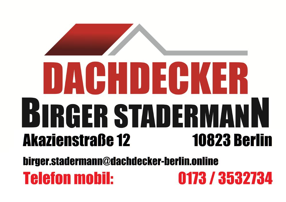Bild zu Dachdecker Birger Stadermann in Berlin