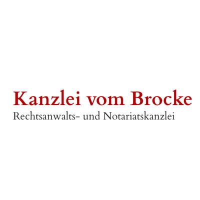 Klaus vom Brocke Rechtsanwalt u. Notar Logo