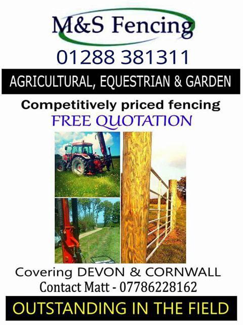 M&S Fencing - Holsworthy, Devon EX22 7ER - 01288 381311 | ShowMeLocal.com