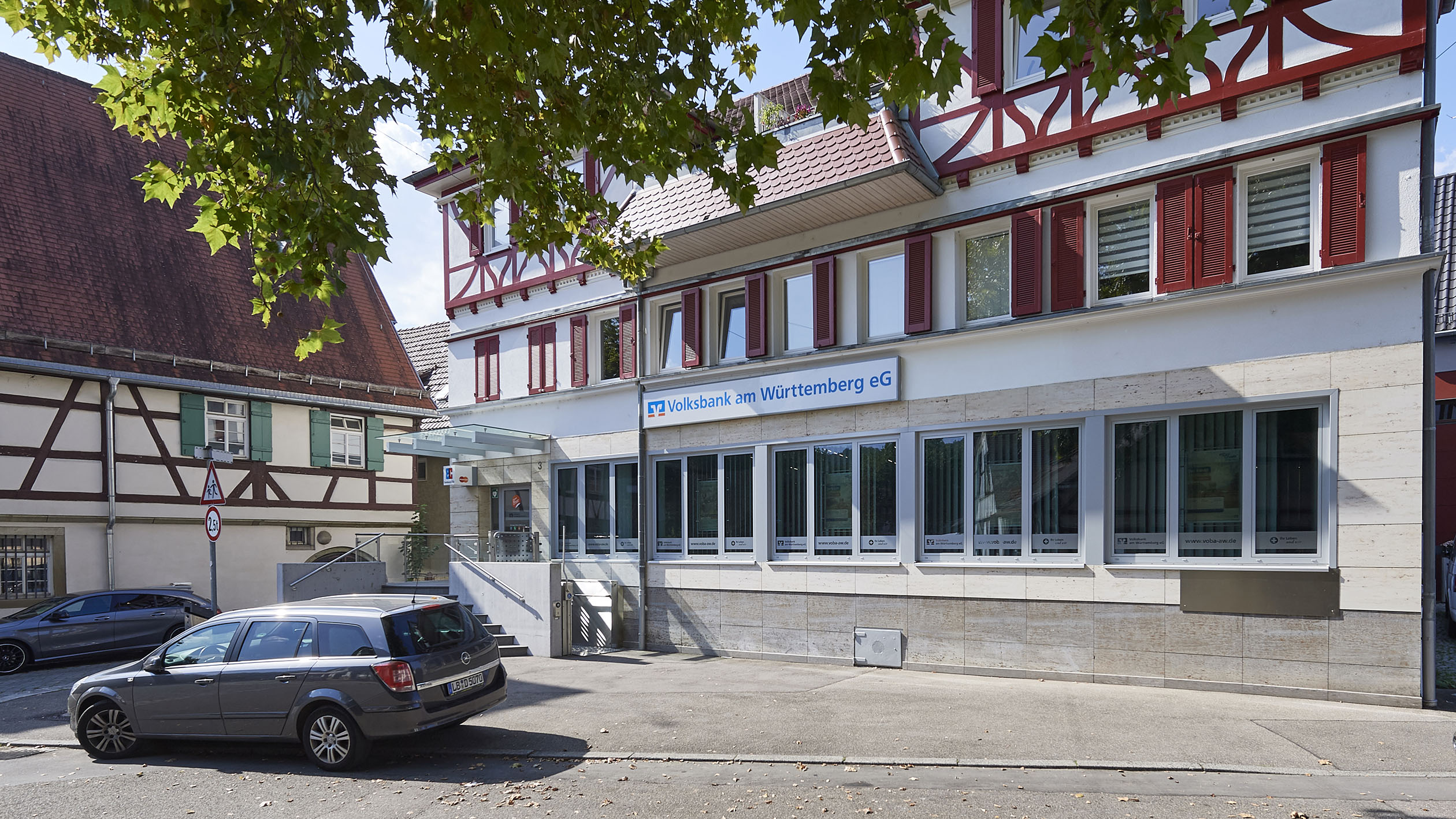 Volksbank am Württemberg eG, Filiale Uhlbach