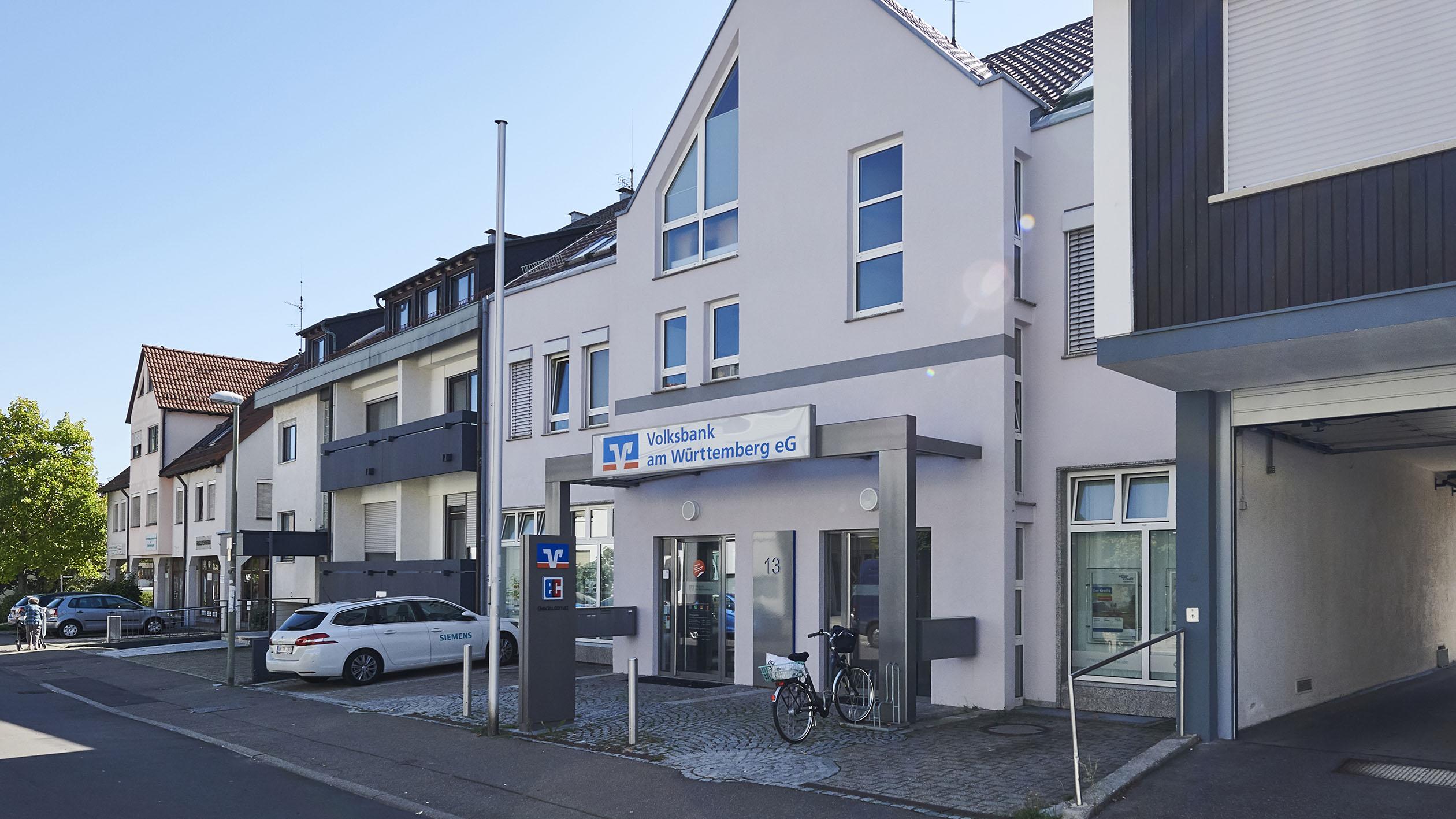 Volksbank am Württemberg eG, Filiale Heumaden