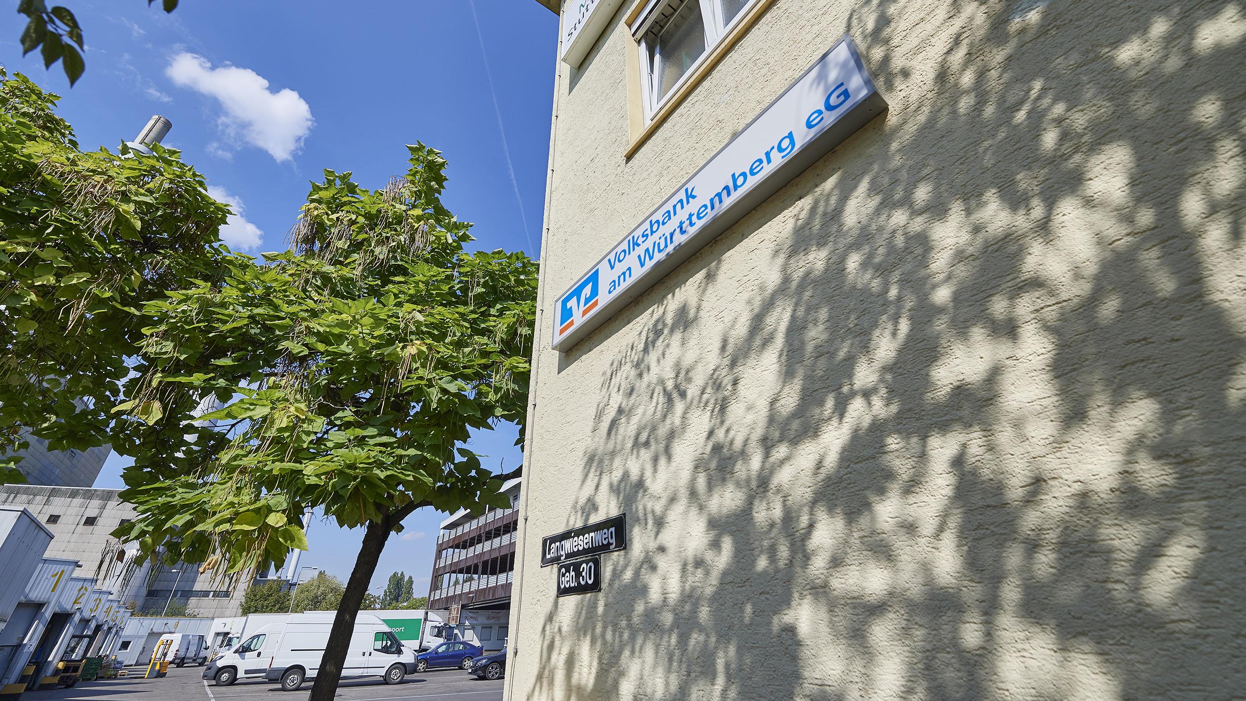 Volksbank am Württemberg eG, Filiale Grossmarkt
