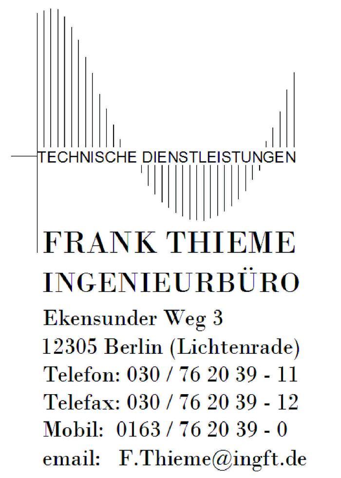 Bild zu Ingenieurbüro Thieme in Berlin