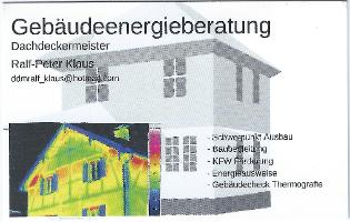 Gebäudeenergieberatung Ralf-Peter Klaus