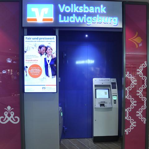 Geldautomat Volksbank Ludwigsburg eG