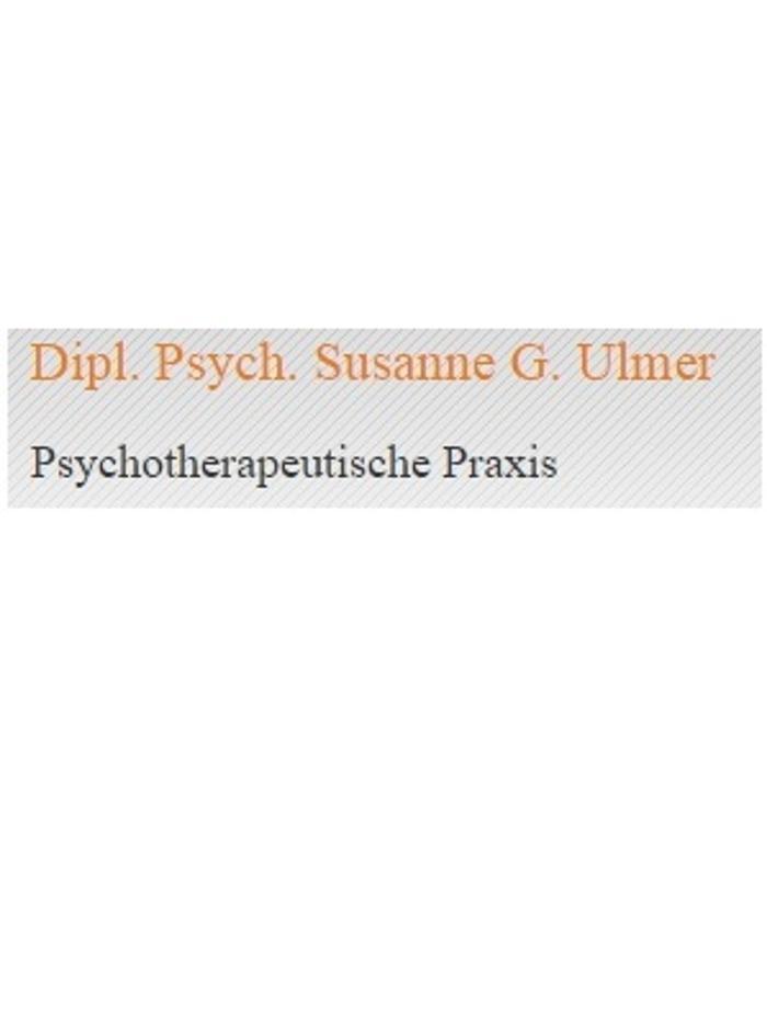 Bild zu Dipl. Psychologin Susanne G. Ulmer - Psychotherapeutische Praxis in Tübingen