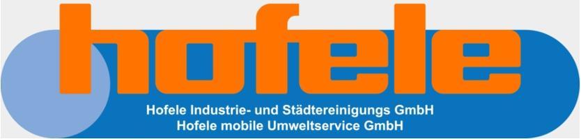 Hofele mobile Umweltservice GmbH