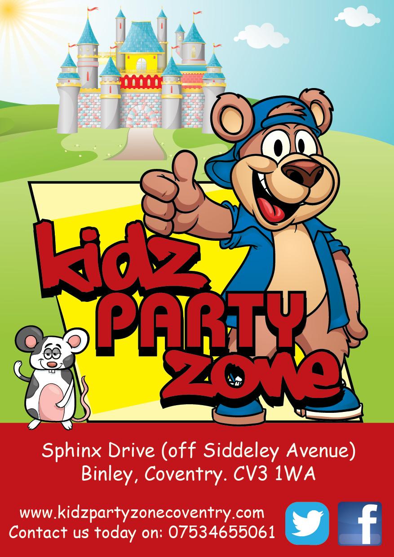 KIDZPARTYZONE - Coventry, West Midlands CV3 1WA - 07534 655061 | ShowMeLocal.com