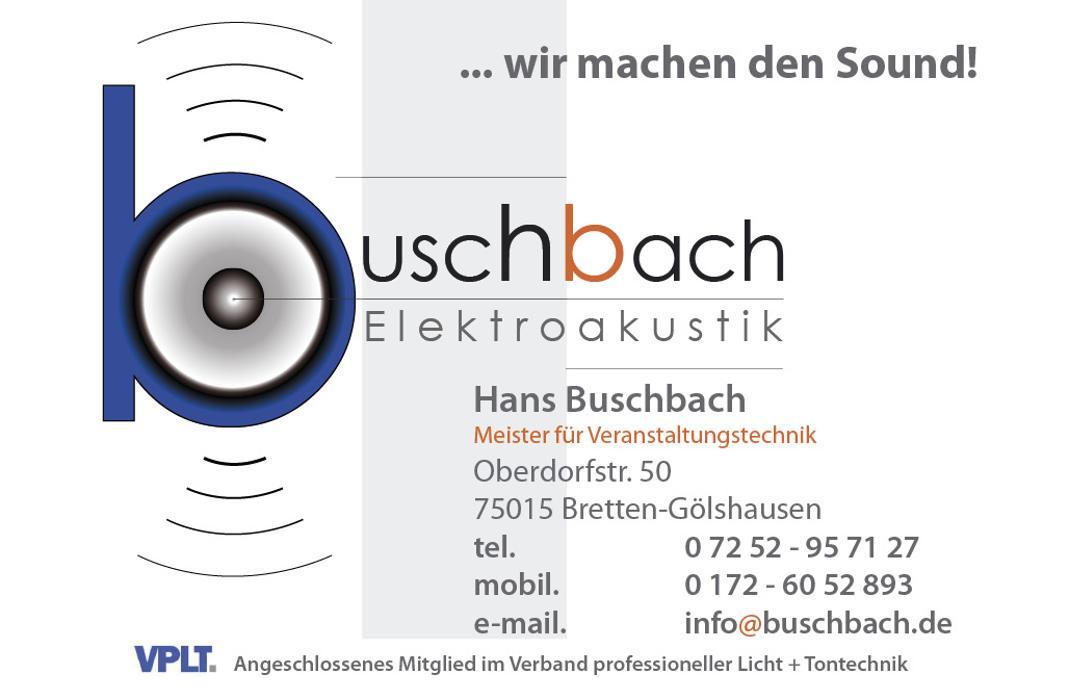 Bild zu Buschbach Elektroakustik in Bretten