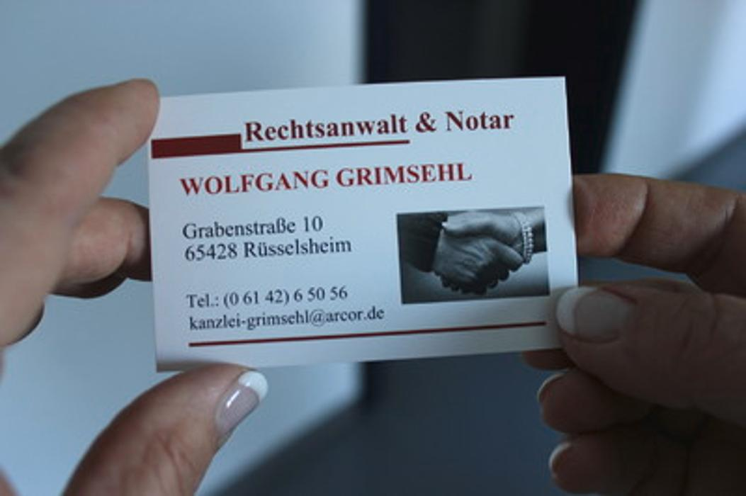 Bild zu Kanzlei Grimsehl - Rechtsanwalt und Notar in Rüsselsheim