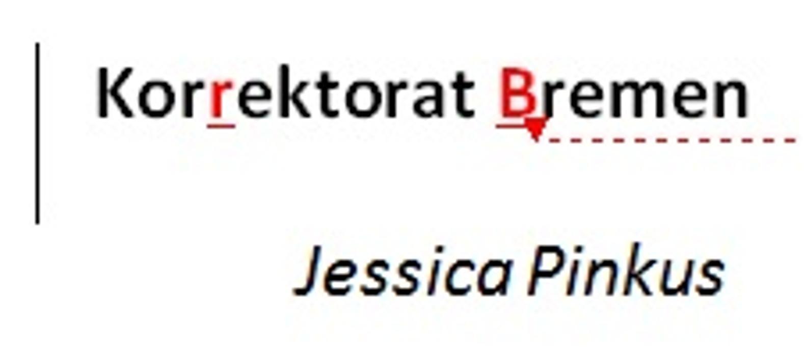 Bild zu Korrektorat Bremen Jessica Pinkus in Bremen